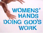 Womens' Hands Doing God's Work logo